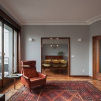 3 Dazzling Apartments with Retro Interiors in 1940s Porto