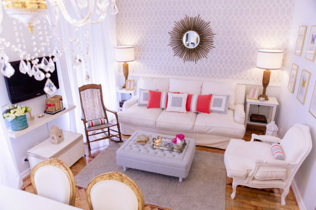 decorating ideas to make a small living room look bigger for decorations how your blogs workanyware tips rh vintageindustrialstyle com paint