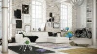 10 Living Room Ideas For Your Industrial Loft