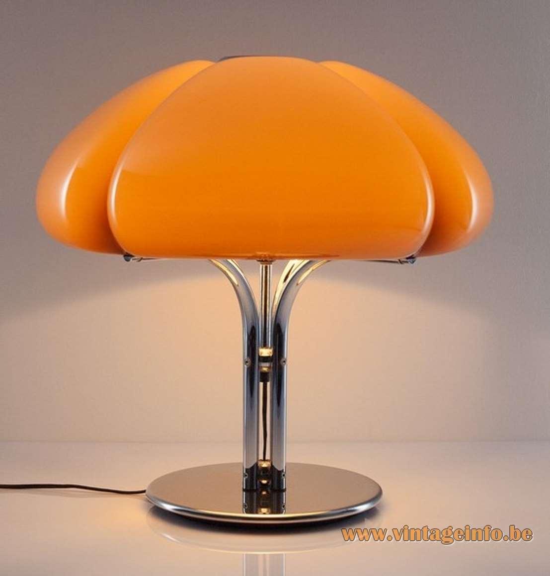 Harvey Guzzini Quadrifoglio Pendant Lamp Vintage Info