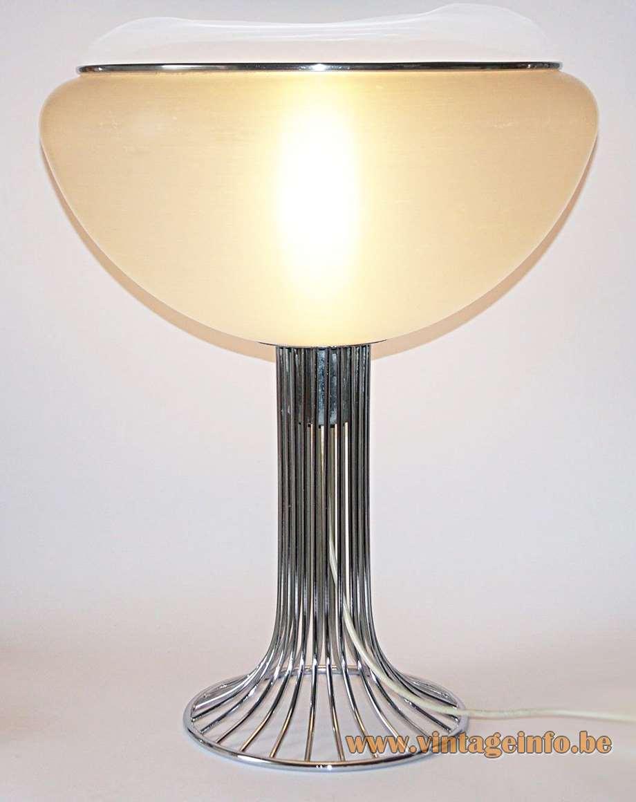 Harvey Guzzini Moana Table Lamp Vintage Info  All About