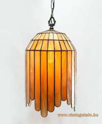 Art Deco Stained Glass Pendant Lamp Vintage Info  All ...