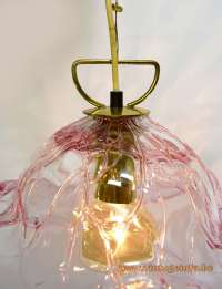 Pink Crystal Murano Pendant Lamp Vintage Info  All About ...