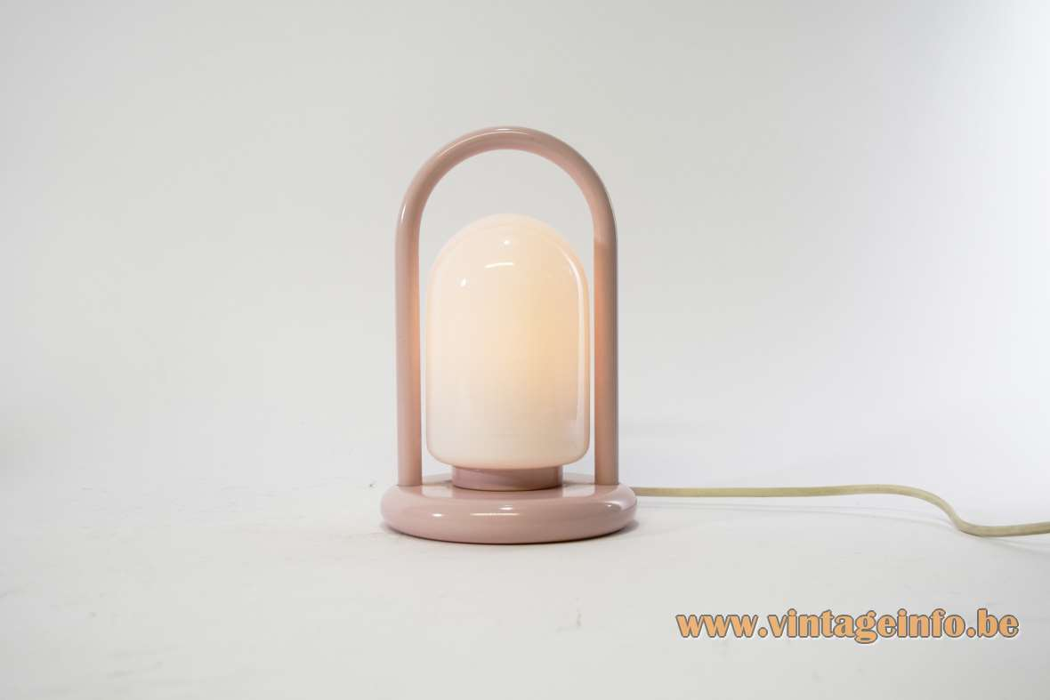 1980s Pink Table Lamp Vintage Info  All About Vintage