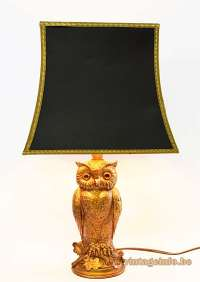Owl Table Lamp Vintage Info  All About Vintage Lighting
