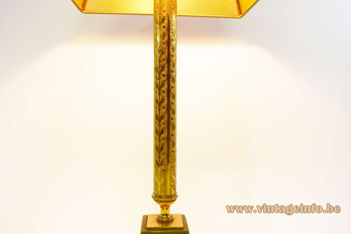 1960s Brass & Onyx Table Lamp Vintage Info  All About