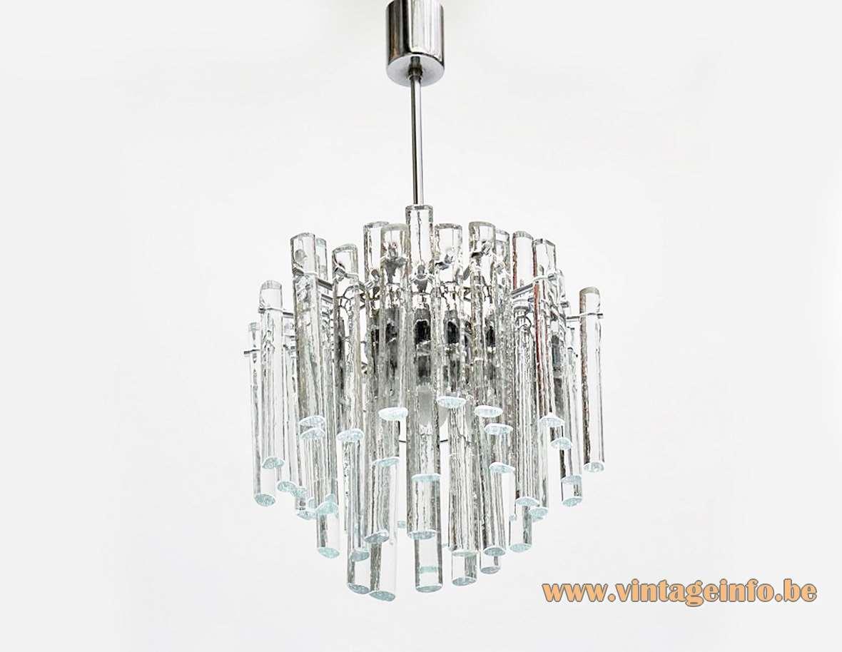 Kinkeldey Ice Glass Chandelier Vintage Info All About