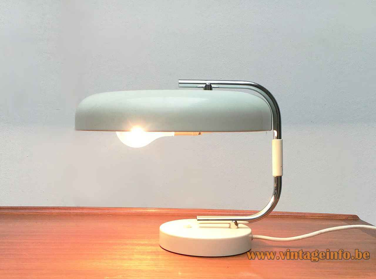 Leuchten Bilder 1960s Hustadt-leuchten Desk Lamp –vintageinfo – All About Vintage Lighting