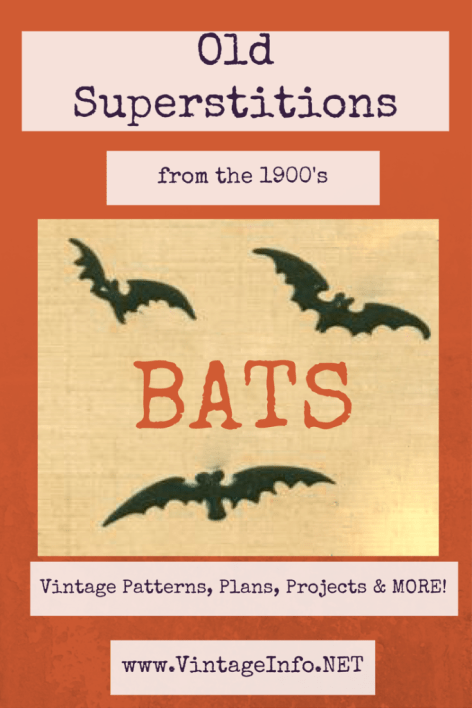 Superstitions About Bats http://vintageinfo.net/superstitions-about-bats/