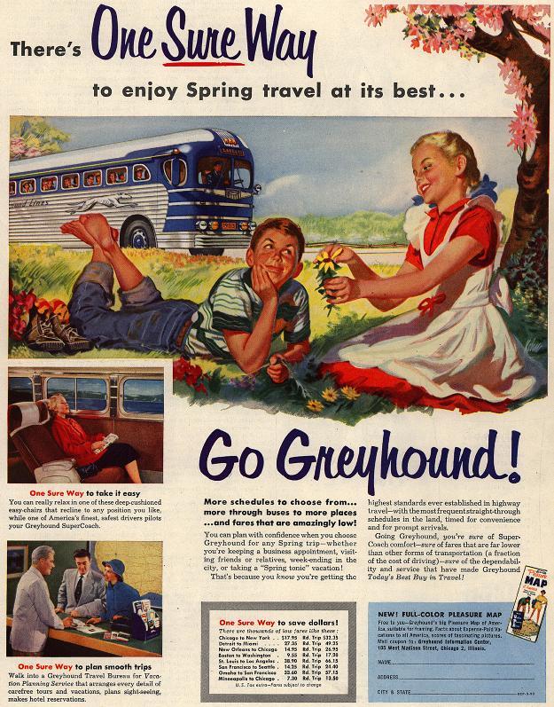 1950s Travel Ads Archives The Vintage Inn
