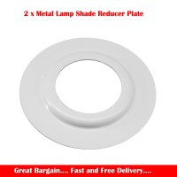 2 x Lamp Shade Adapter Reducer Plate Washer Ring Made From ...