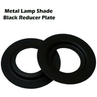 Metal Adapter Reducer Plate 2 X Black / White Lamp Shade ...