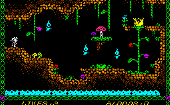 Msx Now Can Play All Zx Spectrum Arcade Game Designer