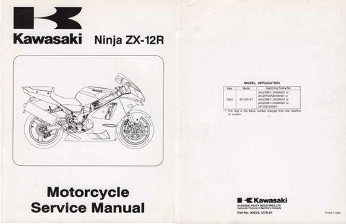 SERVICE MANUAL SPORT/STREET : Vintage Kawasaki, Online Store
