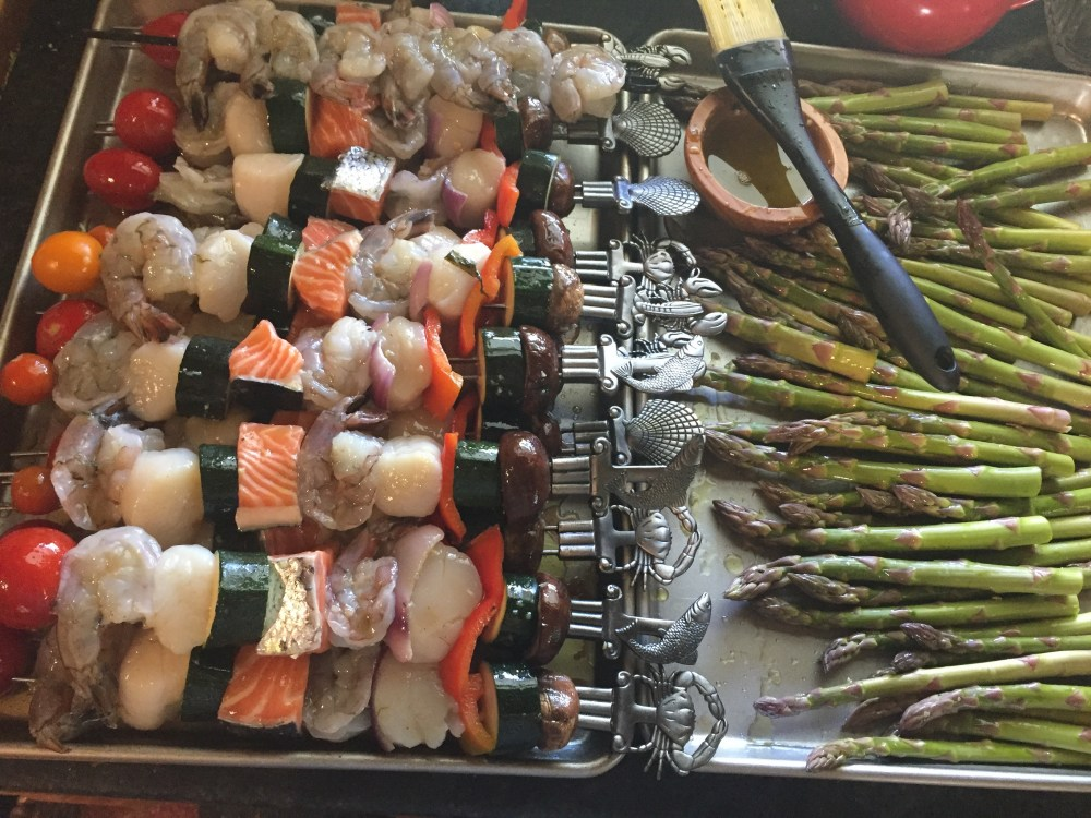 Ready to cook shish