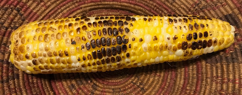 corn cob roasted