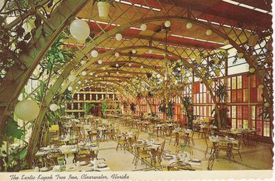 kitchen lazy susan top appliances old florida dinning: remembering the kapok tree inn ...