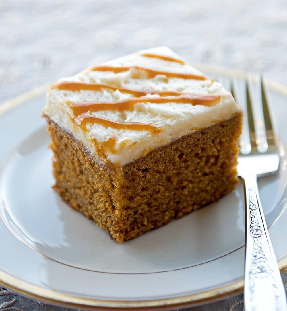 Pumpkin Spice Beer Cake - Vintage Kitty