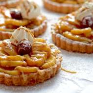 Pineapple Rum Tartlets