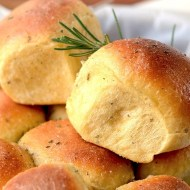 Rosemary Sweet Potato Rolls / Pizza Dough