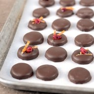Orange Cranberry Patties-a delicious holiday candy!