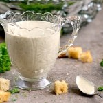 Wow your taste buds with this Vegan Creamy Italian Salad Dressing. It's thick, herb-y and so much more nutritious than the sugary store bought kind.