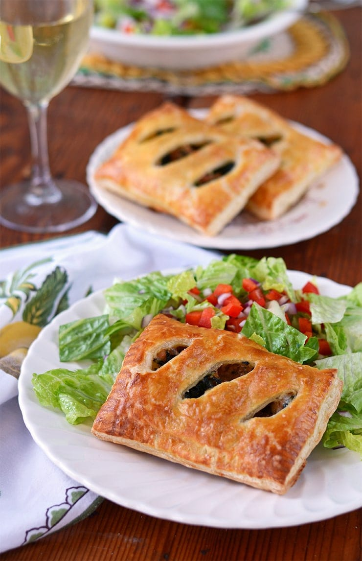 ideal as a makeahead meal these puff pastry pockets can be baked from