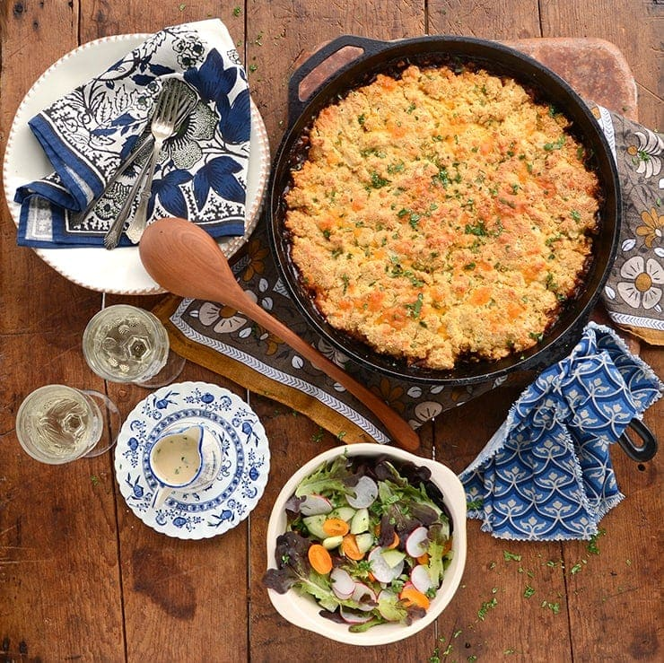 Our easy recipe for BBQ Lentil Bake is a dish for all seasons. It's a welcome comfort during the cold season since it's filling and savory but its also an ideal side dish for cookouts.