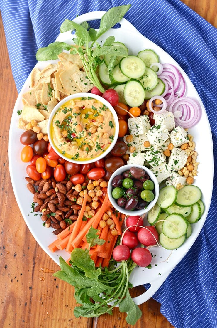 Become A Party Platter Expert This Harissa Hummus Recipe Takes Just 10 Minutes To Make