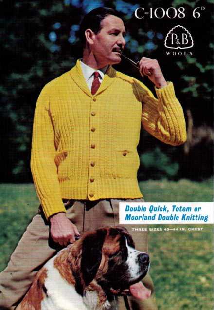 Men's Shawl neck Cardigan