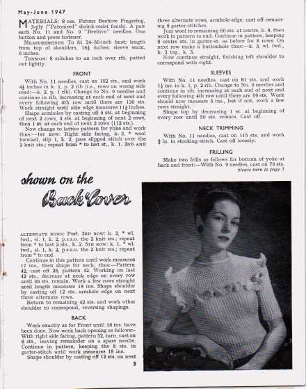 Stitchcraft May 19474