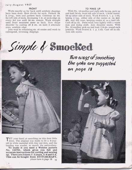 Stitchcraft August 194710