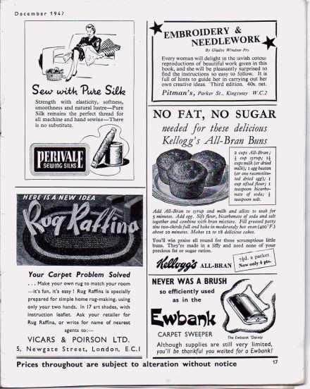 Stitchcraft  Dect 1947 16