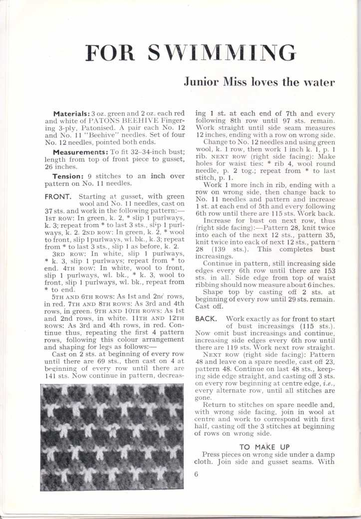 ForTheJuniorMiss Stitchcraft 1940s magazine scan 40's p6