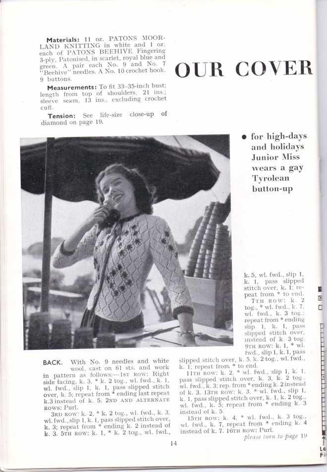 ForTheJuniorMiss Stitchcraft 1940s magazine scan 40's  p14
