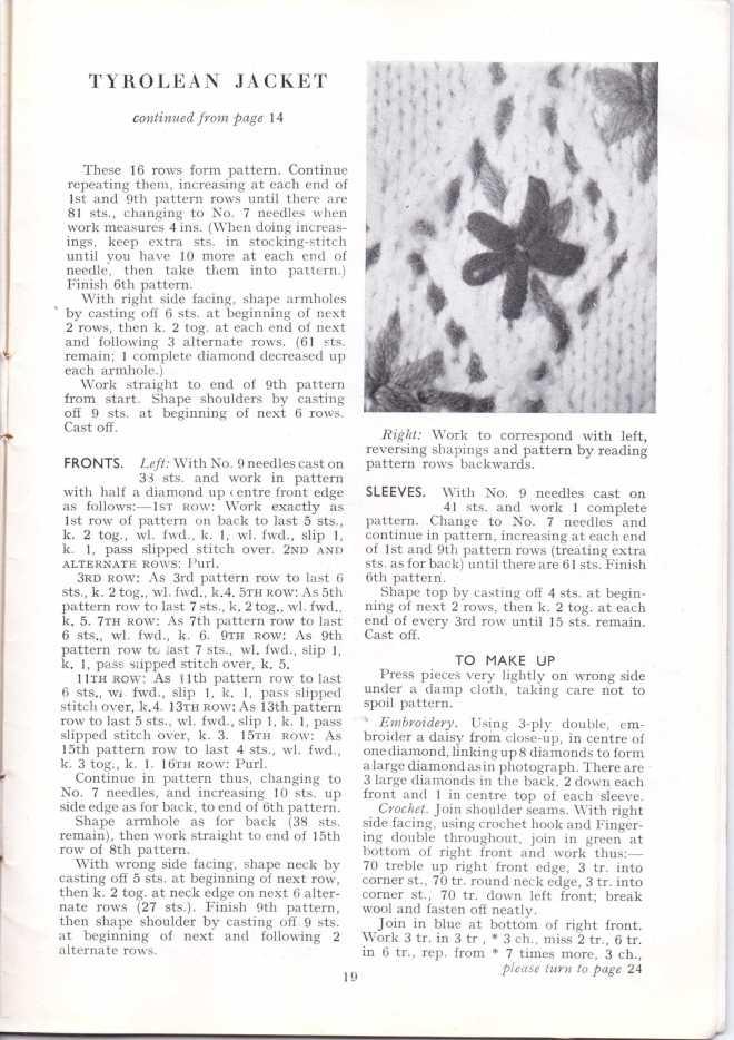 ForTheJuniorMiss Stitchcraft 1940s magazine scan 40's p 19