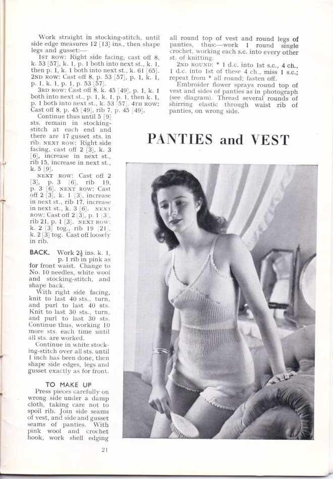 ForTheJuniorMiss Stitchcraft 1940s magazine scan 40's p 21
