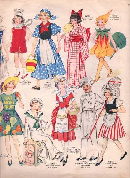 Weldon's Fancy Dress10