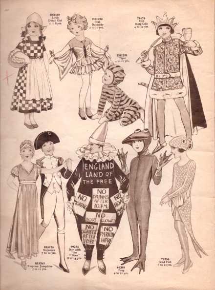 Weldon's Fancy Dress5