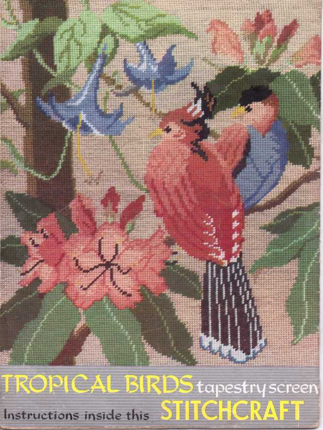 vintage knitting patternstitchcraftjune1952301