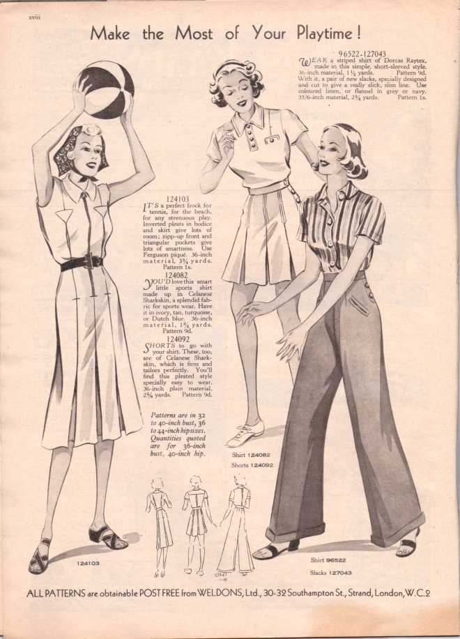 Weldon's Ladies Journal 1938 free knitting pattern19