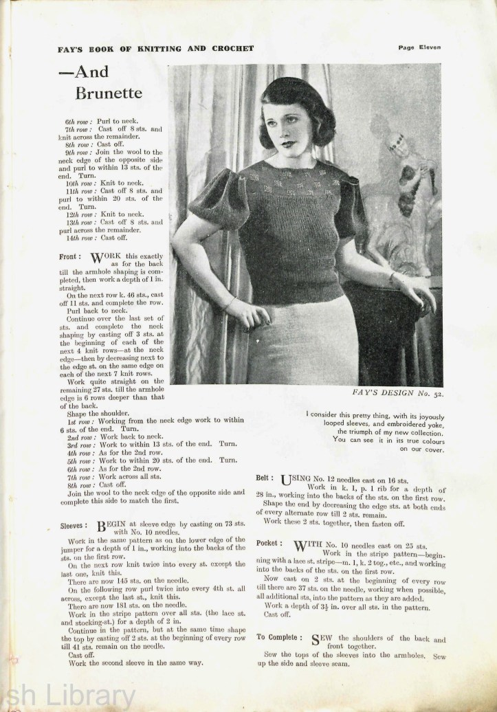 Fay's Second book of knitting (2)