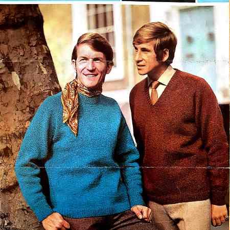 260ebf39432a Free Vintage Knitting Pattern  Men s late 60s sweaters Sirdar 5084