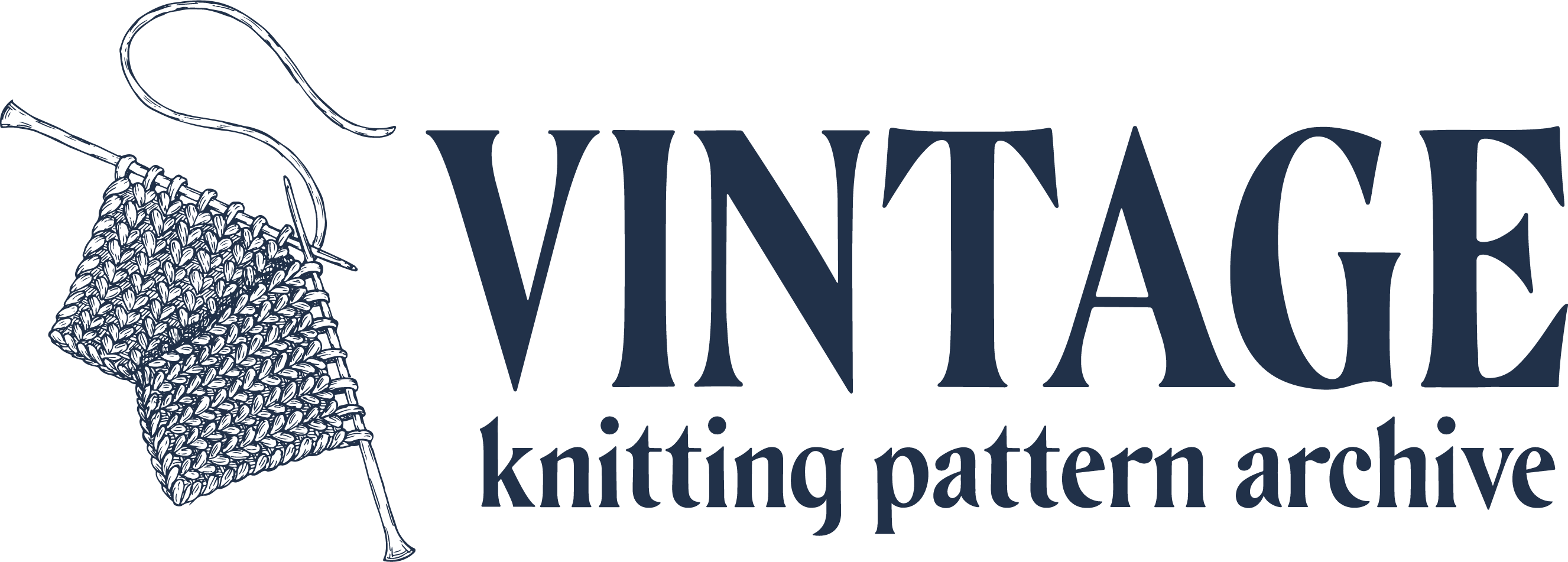 Vintage Knitting Pattern Archive