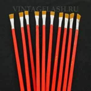 Кисть для смешивания краски с деревянной ручкой 1 шт.