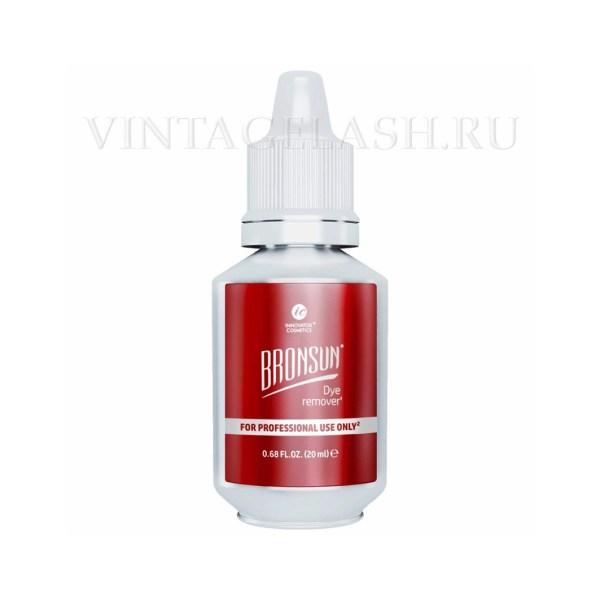 Ремувер для удаления краски с кожи BRONSUN Dye remover, 20мл new