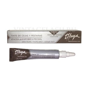 Серый тауп краска для бровей и ресниц Thuya, 14 мл