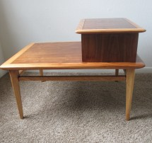 Mid Century End Table Lane Furniture Danish Style