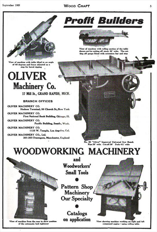 Oliver Machinery Company Grand Rapids Michigan