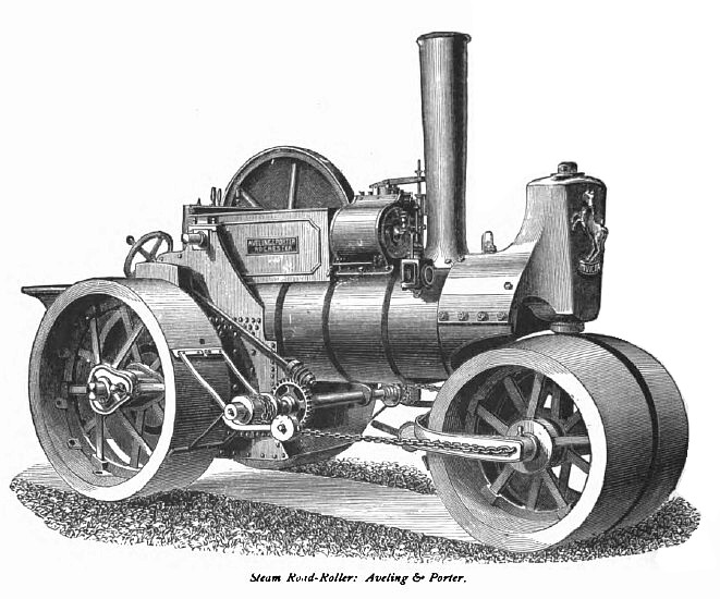 Aveling And Porter Steam Roller For Sale